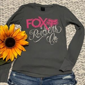 Fox Riders Co thermal long sleeve